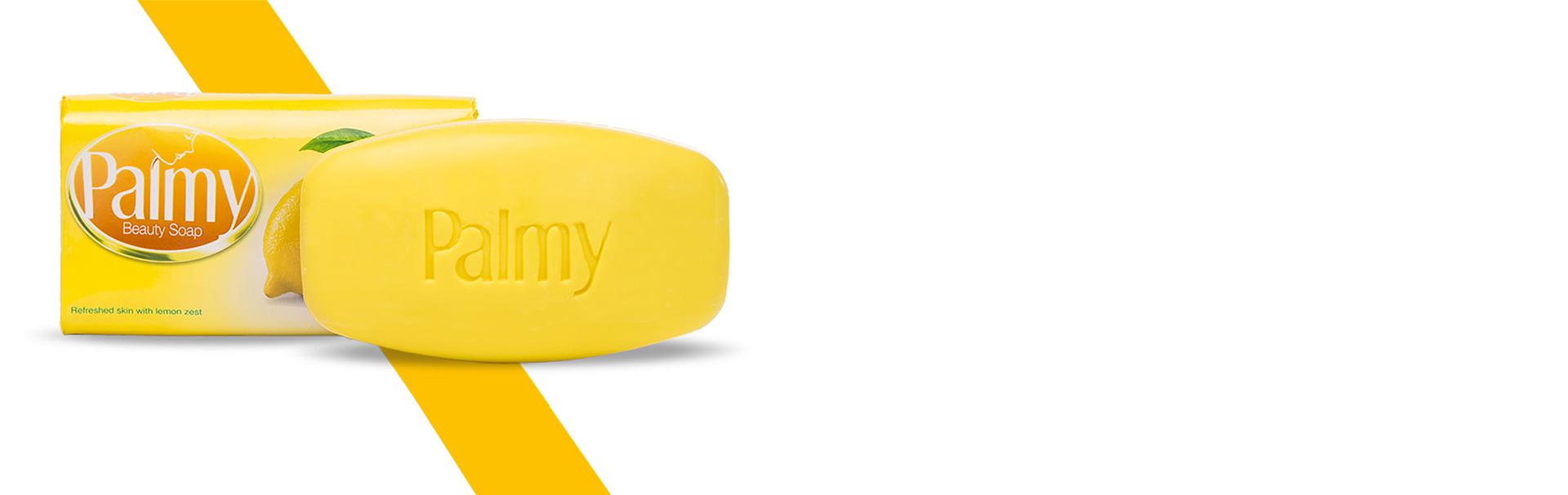Palmy Beauty Soap Lemon Fragrance