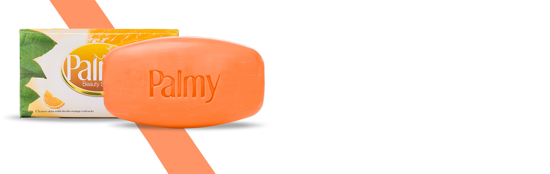 Palmy Beauty Soap Orange Fragrance