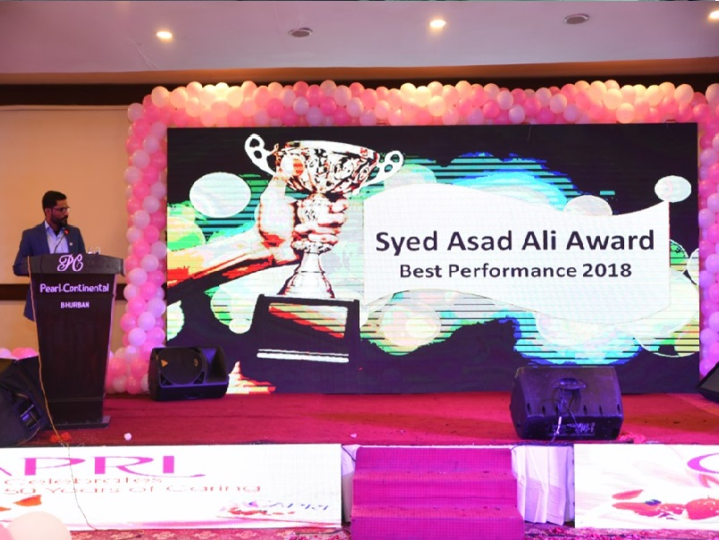 Syed Asad Ali Awards