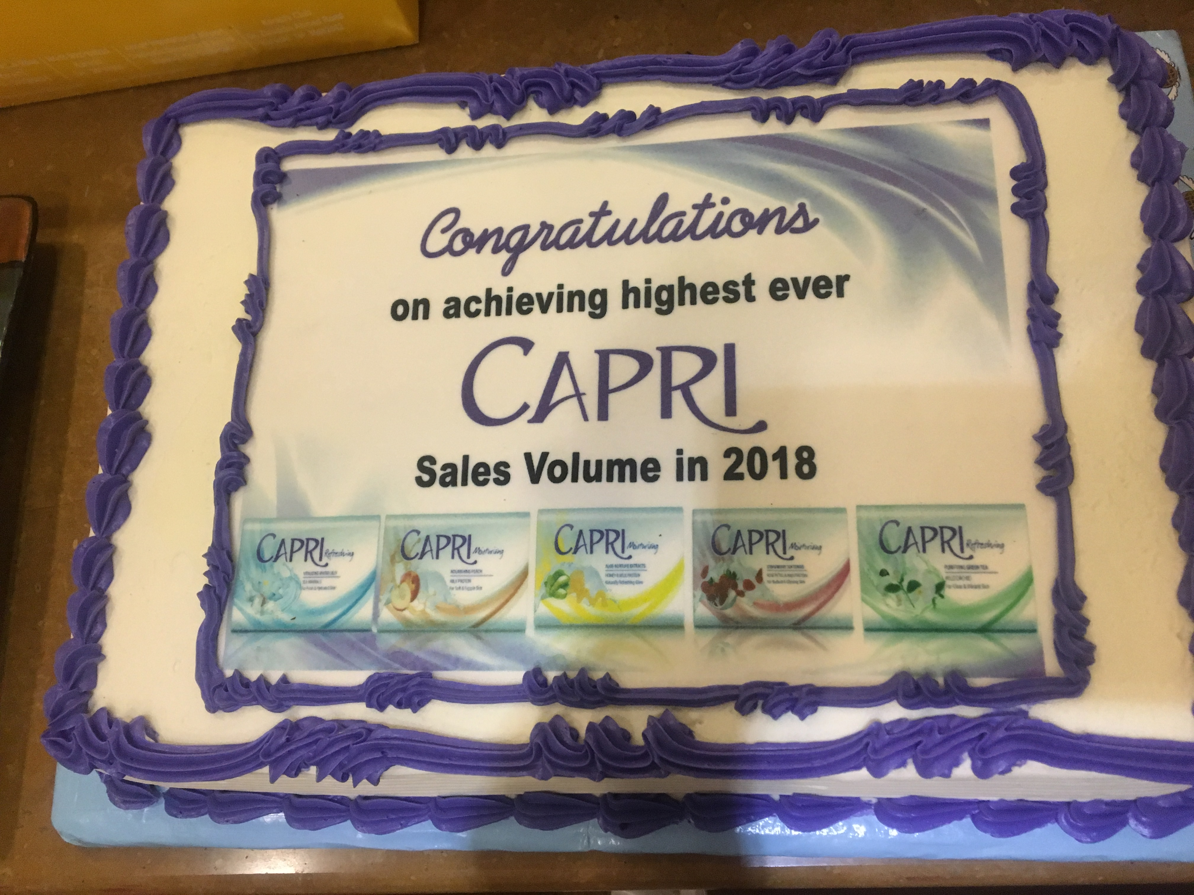 Highest Sales Celebration