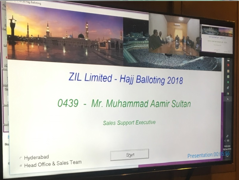 Hajj Balloting 2018